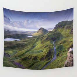 The Road to the Quiraing Wall Tapestry
