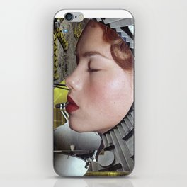 Ground Control  - Vintage Space Astronaut Collage iPhone Skin