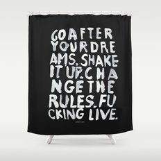 LIVE Shower Curtain