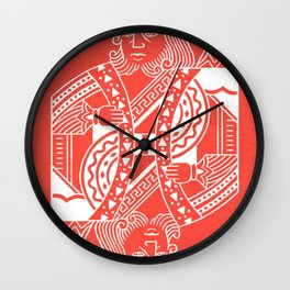 Creativity Is King Wall Clock