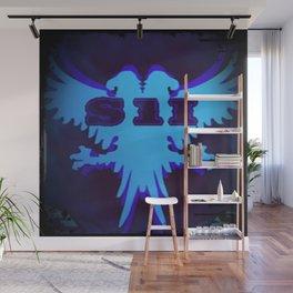 Slam 1 Industries Blue Falcon Crest Wall Mural