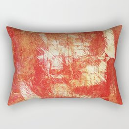 Fragmentary Man Rectangular Pillow