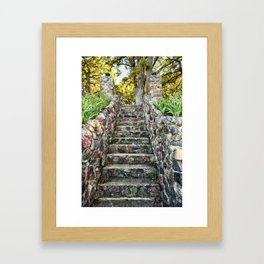 Ever Upward Framed Art Print