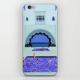 Scallop pool iPhone Skin