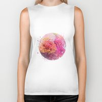 dots Biker Tanks featuring Dots by Dnzsea