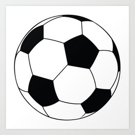 World Cup Soccer Ball - 1970 Art Print