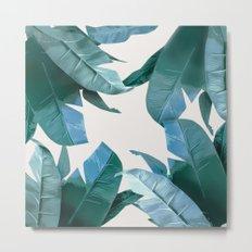 Tropical Palm Print - #4 Metal Print