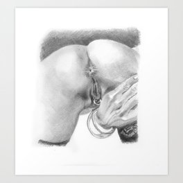 Rings and bangles. Art Print