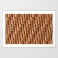 africa Art Prints featuring Africa by Okopipi Design