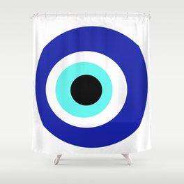 Blue Eye Shower Curtain