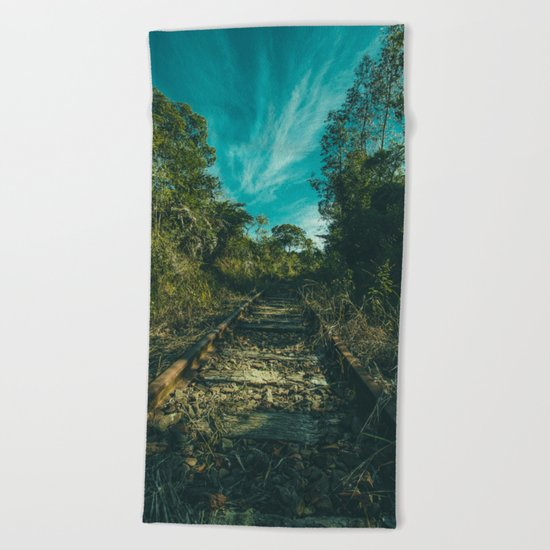 Abandoned Beach Towel
