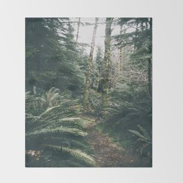 Happy Trails XVIII Throw Blanket