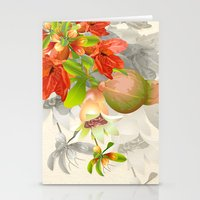 pomegranate Stationery Cards featuring Pomegranate. by Nato Gomes