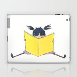 Little Girl Reading Laptop & iPad Skin
