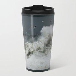 hokusai inspired Travel Mug