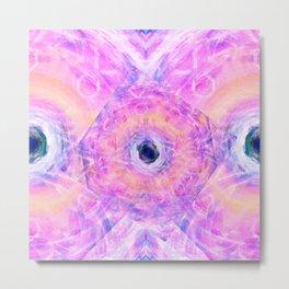 The Pink Series: Metaphase Metal Print