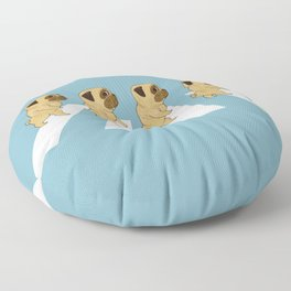 Puggy Road Floor Pillow