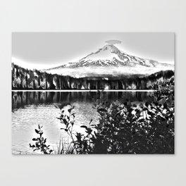 Oregon Trillium Lake Canvas Print