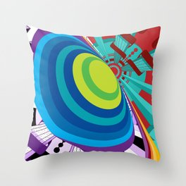 Hyperdimensional Throw Pillow
