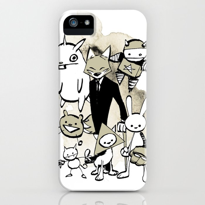 minima - dapper fox iPhone Case