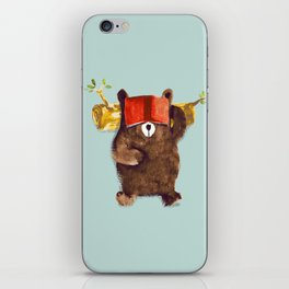 No Care Bear - My Sleepy Pet iPhone Skin