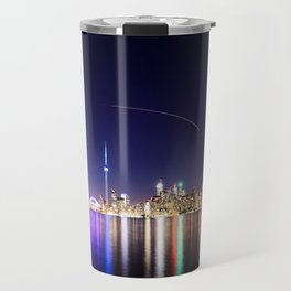 Toronto Vibrant nightscape Travel Mug