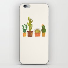 Hedgehog and Cactus (incognito) iPhone Skin