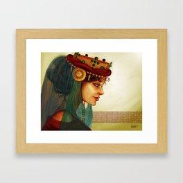 Sibylla, Queen of Jerusalem Framed Art Print