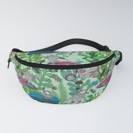 Sloths need for speed Fanny Pack