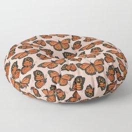 Butterfly Watercolor Floor Pillow
