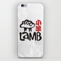 lamb iPhone & iPod Skins featuring Lamb by biblebox