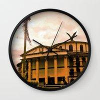 colombia Wall Clocks featuring Colombia is my country! by Alejandra Triana Muñoz (Alejandra Sweet