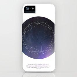 Light (Constellation) iPhone Case