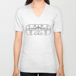 Aztec Goddess of Earth Unisex V-Neck