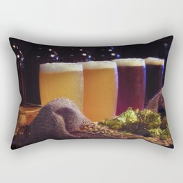 Beer Tasting 101 home brew Rectangular Pillow