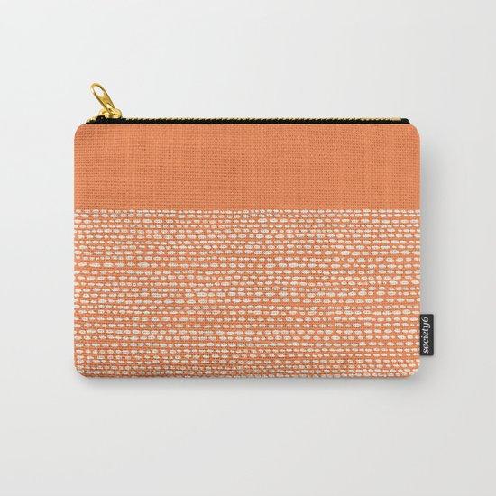 Riverside - Celosia Orange Carry-All Pouch