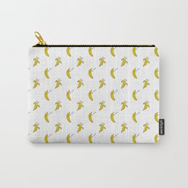 Funny Banana Sleeping Lazy Fruit Lover ZZZ Sleep  Carry-All Pouch