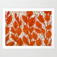 Happy autumn II Art Print