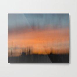Intense Sunset Metal Print