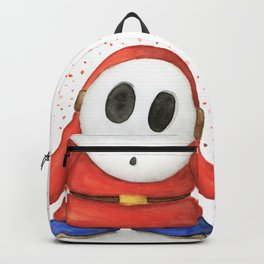 Confused Shy Guy Backpack