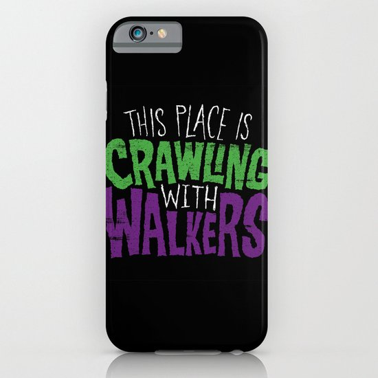Crawling Walkers iPhone & iPod Case