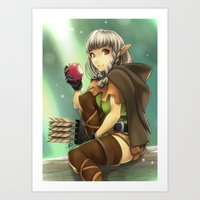 Dem Appless Art Print