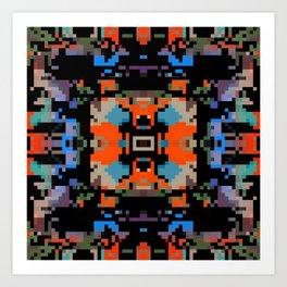 southwest blanky Art Print