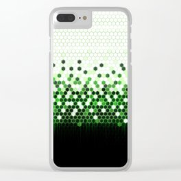 Tech Camouflage 2.0 Clear iPhone Case