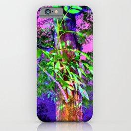 Magic Light at Night iPhone Case