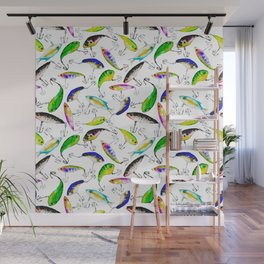 Fishing is Fly Wall Mural