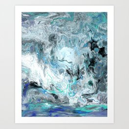 Shorebreak Art Print
