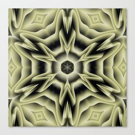 Spikes: abstract digital pattern Canvas Print