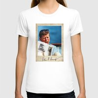 jfk T-shirts featuring JFK Boat by Sport_Designs