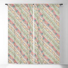 Hungarian pattern Blackout Curtain
